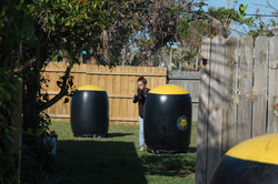 Backyard laser tag in Sarasota