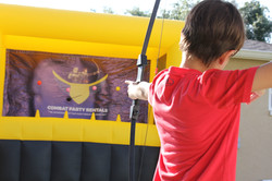Inflatable Archery Game in Florida