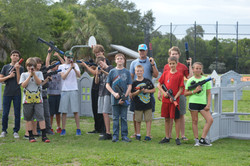 Mobile Laser Tag at Glebe Park, FL
