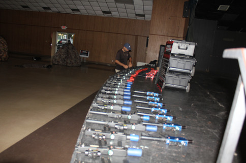 Host the largest laser tag event in FL
