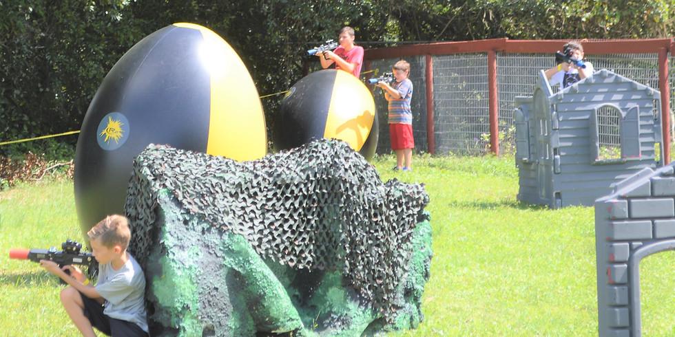 Coral Gables Laser Battle