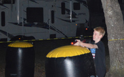 Laser Tag at Peace River Campground