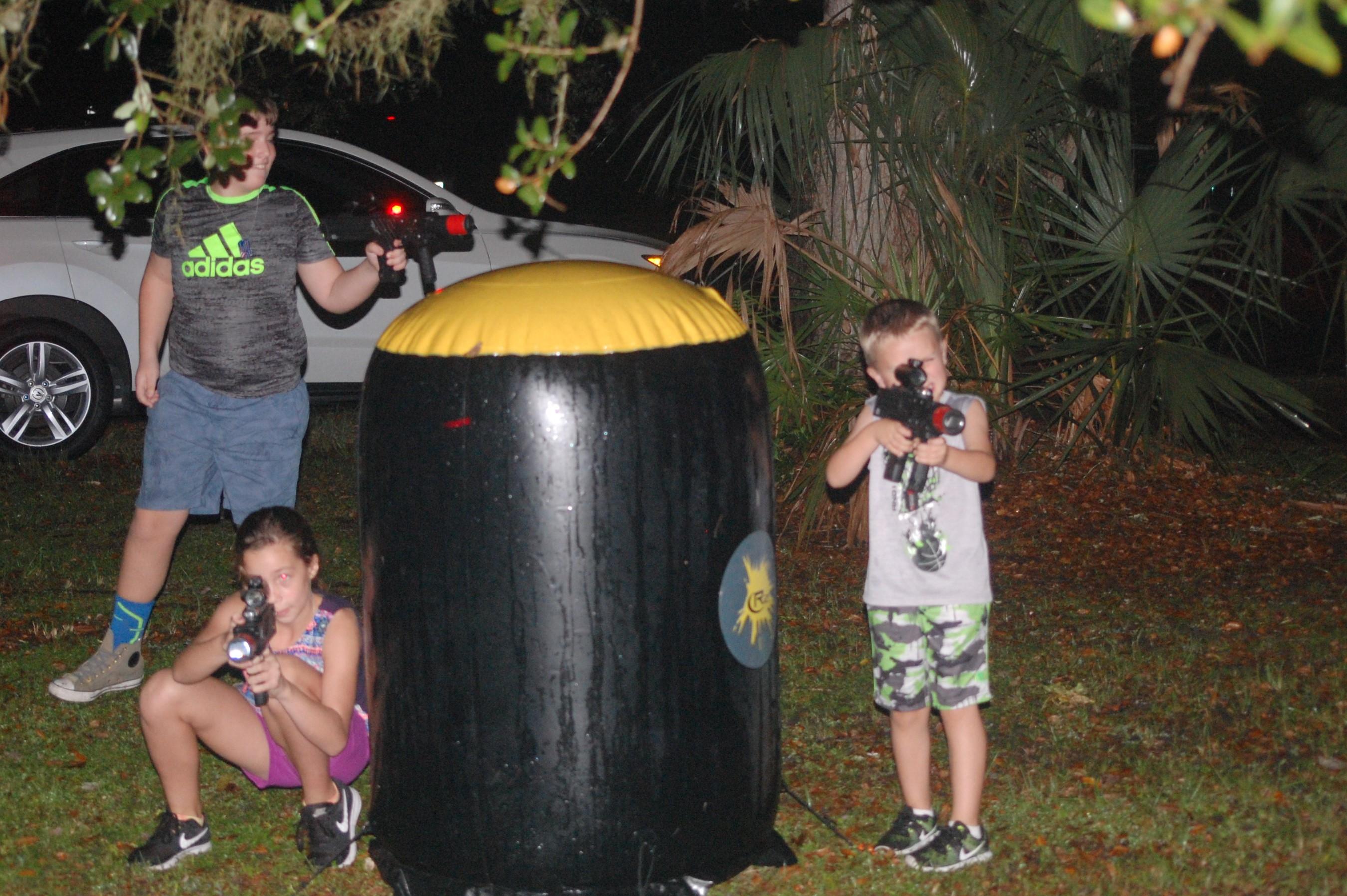 Mobile Laser Tag in Sarasota
