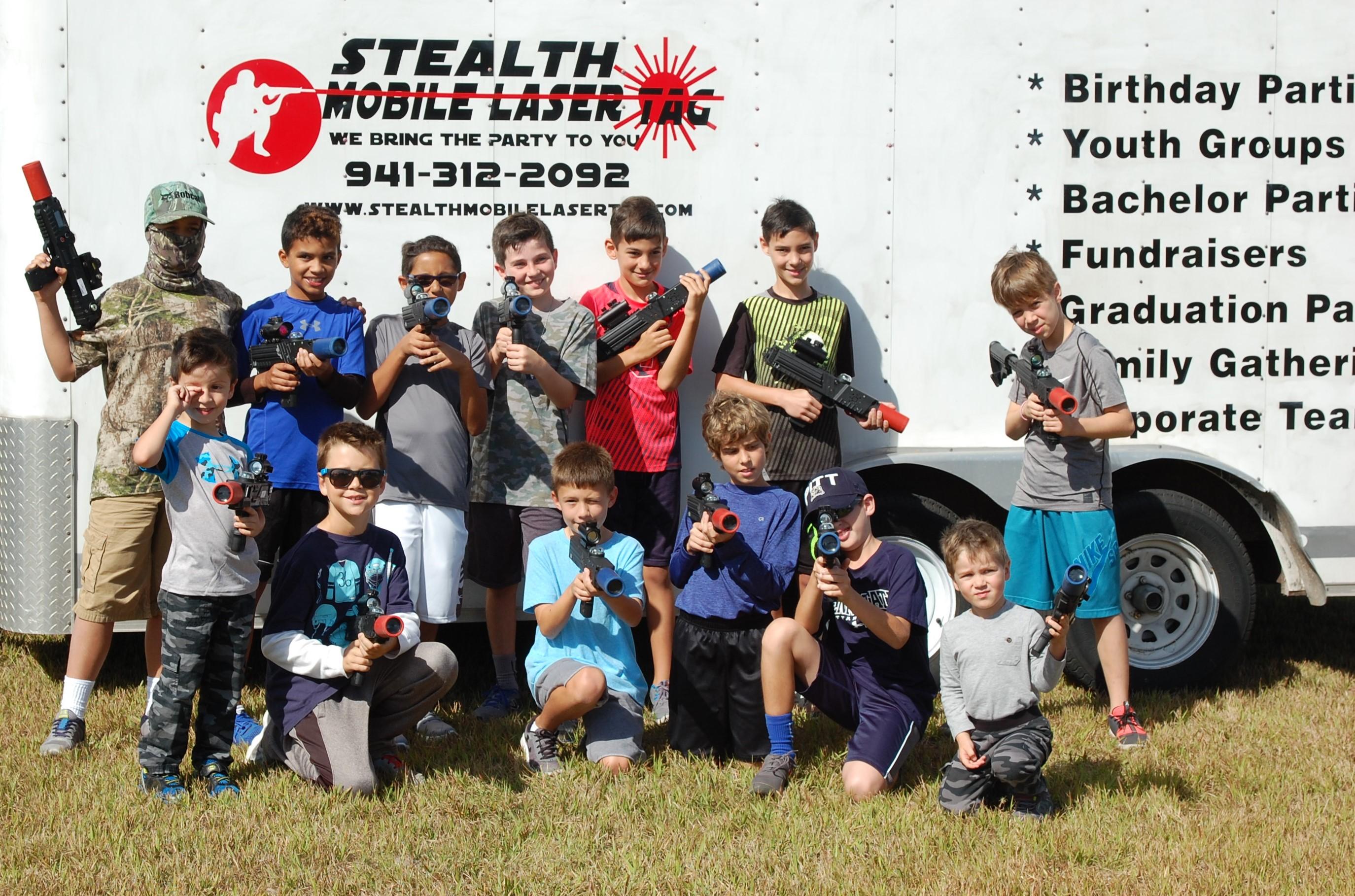 Best Mobile Laser Tag in Florida