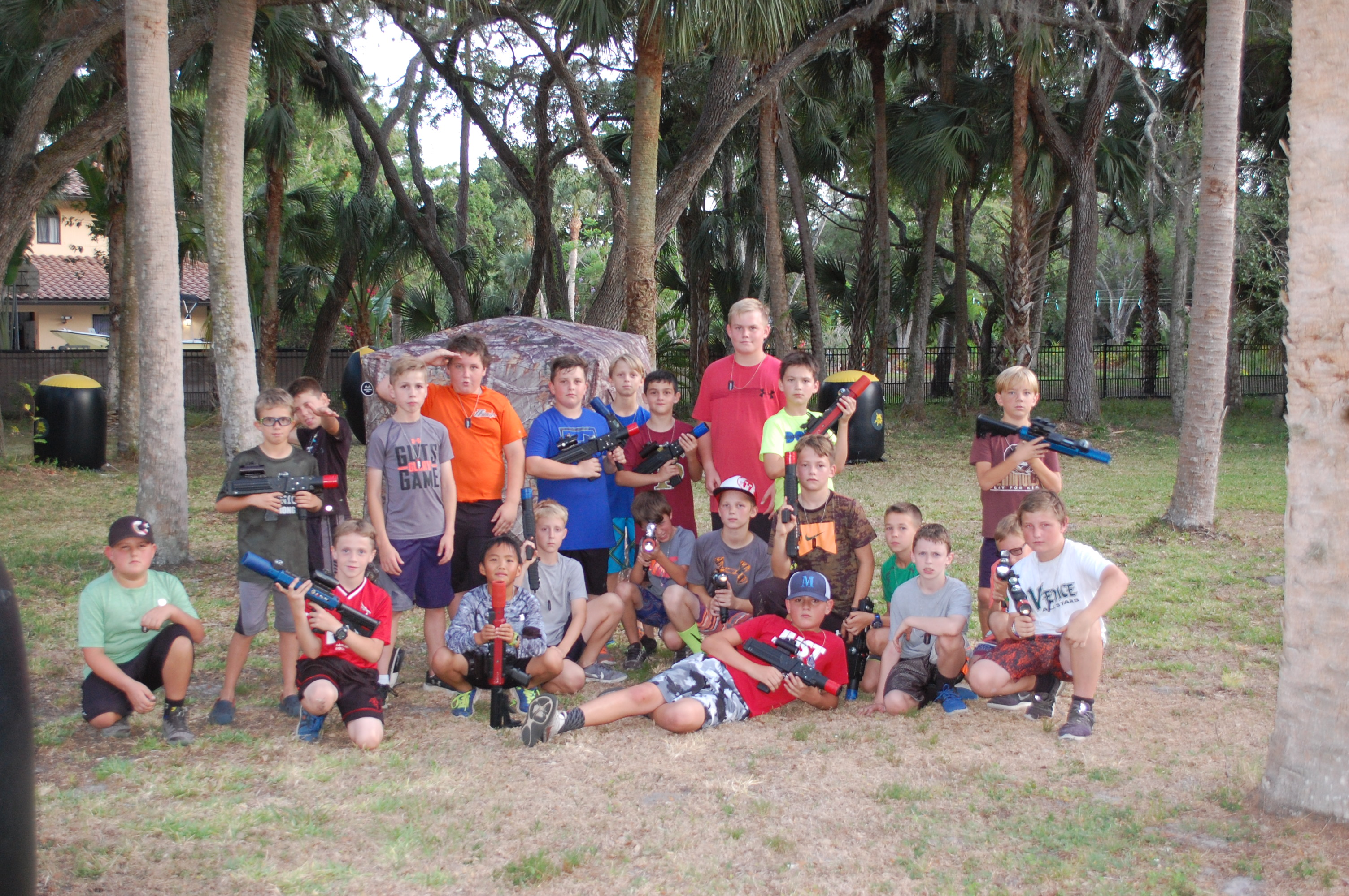 Laser tag in Ft. Myers, FL