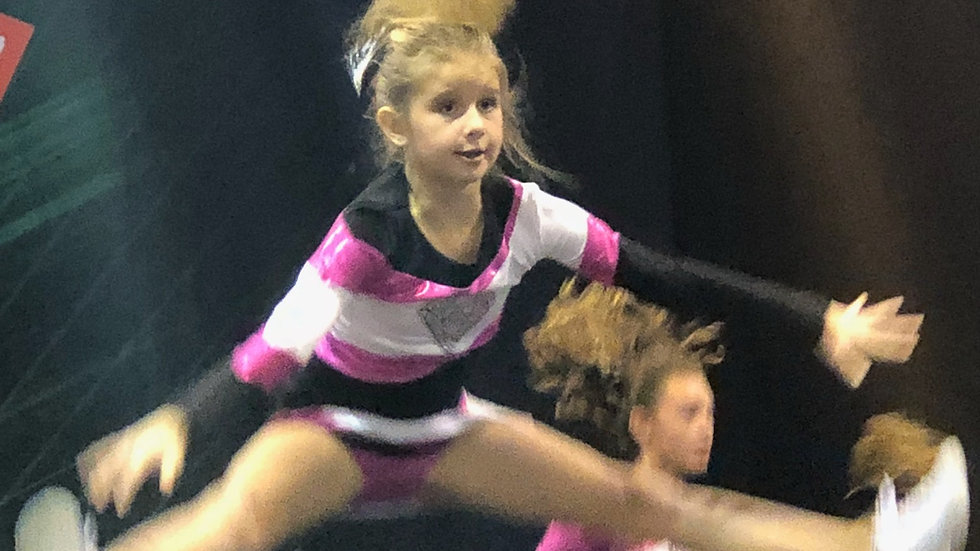 PARAGON COMPETITION LEVEL 1( Age 12 and under) - TUESDAY'S 5:15-6:15