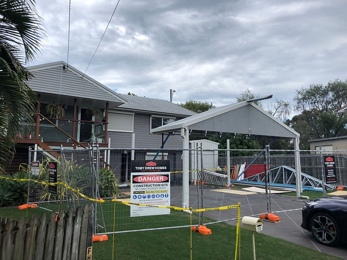 Toby Drew homes are Brisbane northside builders completing house extensions and house renovations working with low set houses and two-storey homes to three-storey high set homes.