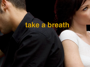 Remember to take a breath
