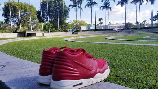 Red Nike Air Entertrainer Shoe Gallery