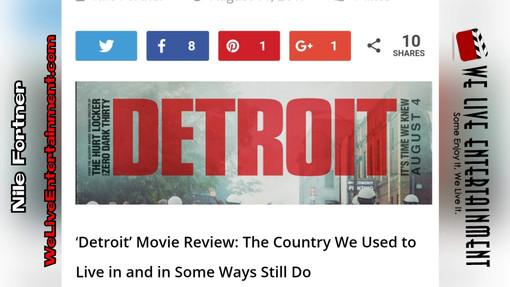 'Detroit' Movie Review (W.L.E.)