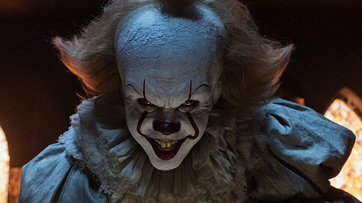 Pennywise from the 2017 'IT' movie