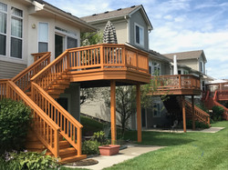 Condo Deck Paint and Stain