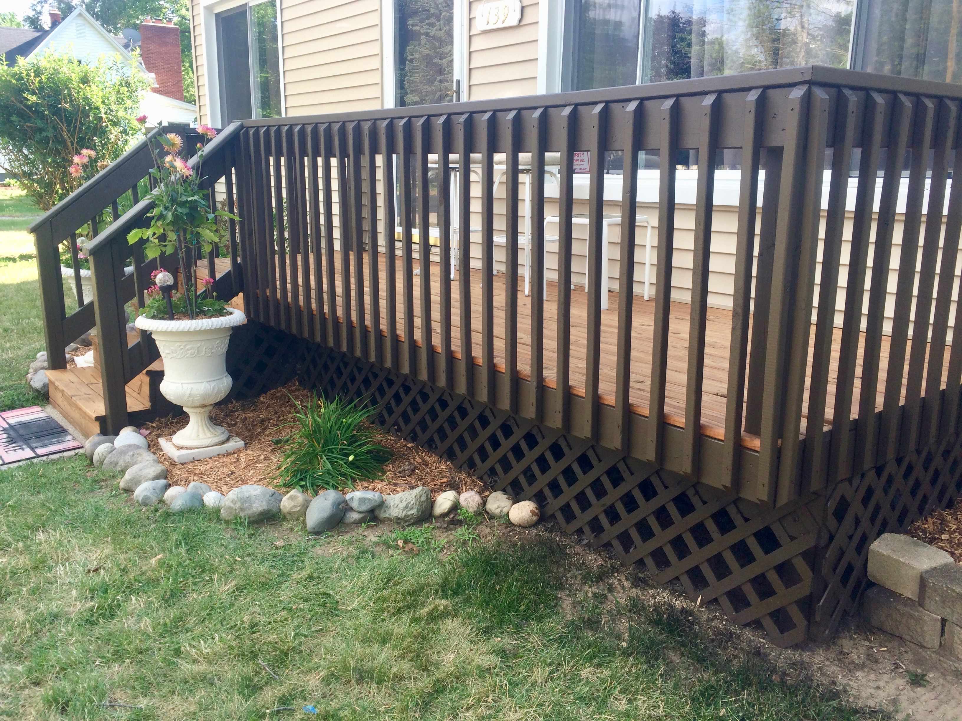 Deck Stain and Seal