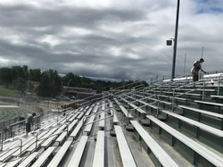 Power Wash Bleachers Lake Orion High School