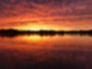 Beautiful Lake Orion at Sunset