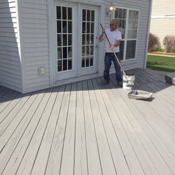 Solid Color Deck Stain (base coat)