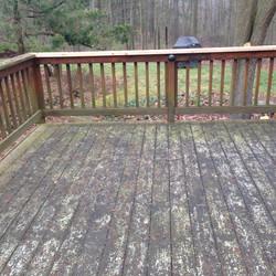 Dirty Cedar Deck Clarkston MI