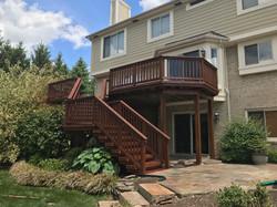 Rustic Tone TWP Cedar Deck Refinish Clarkston