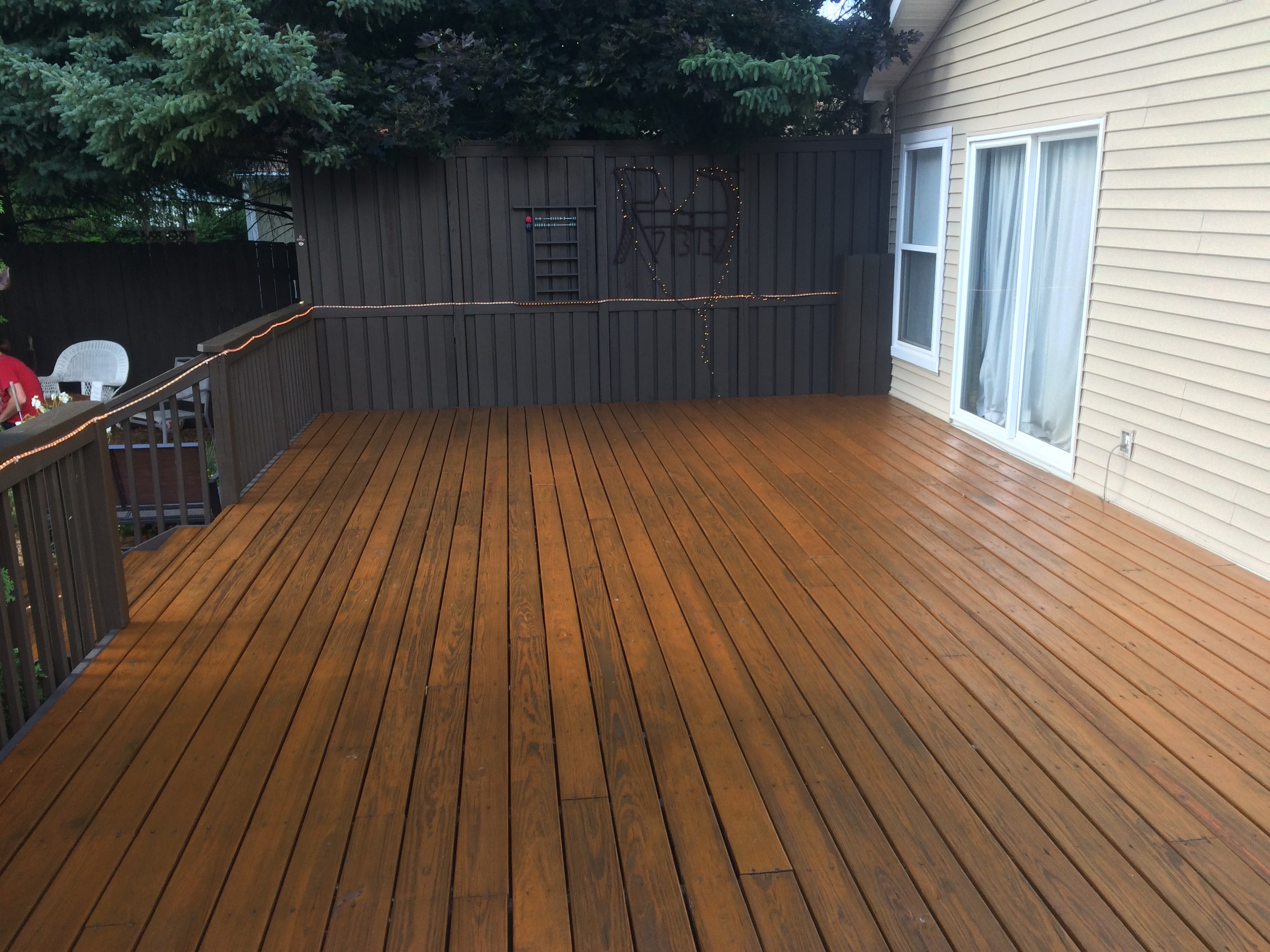 Solid Color Fence and Rail Stain Lake Orion