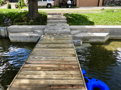 Clean Cement and Dock