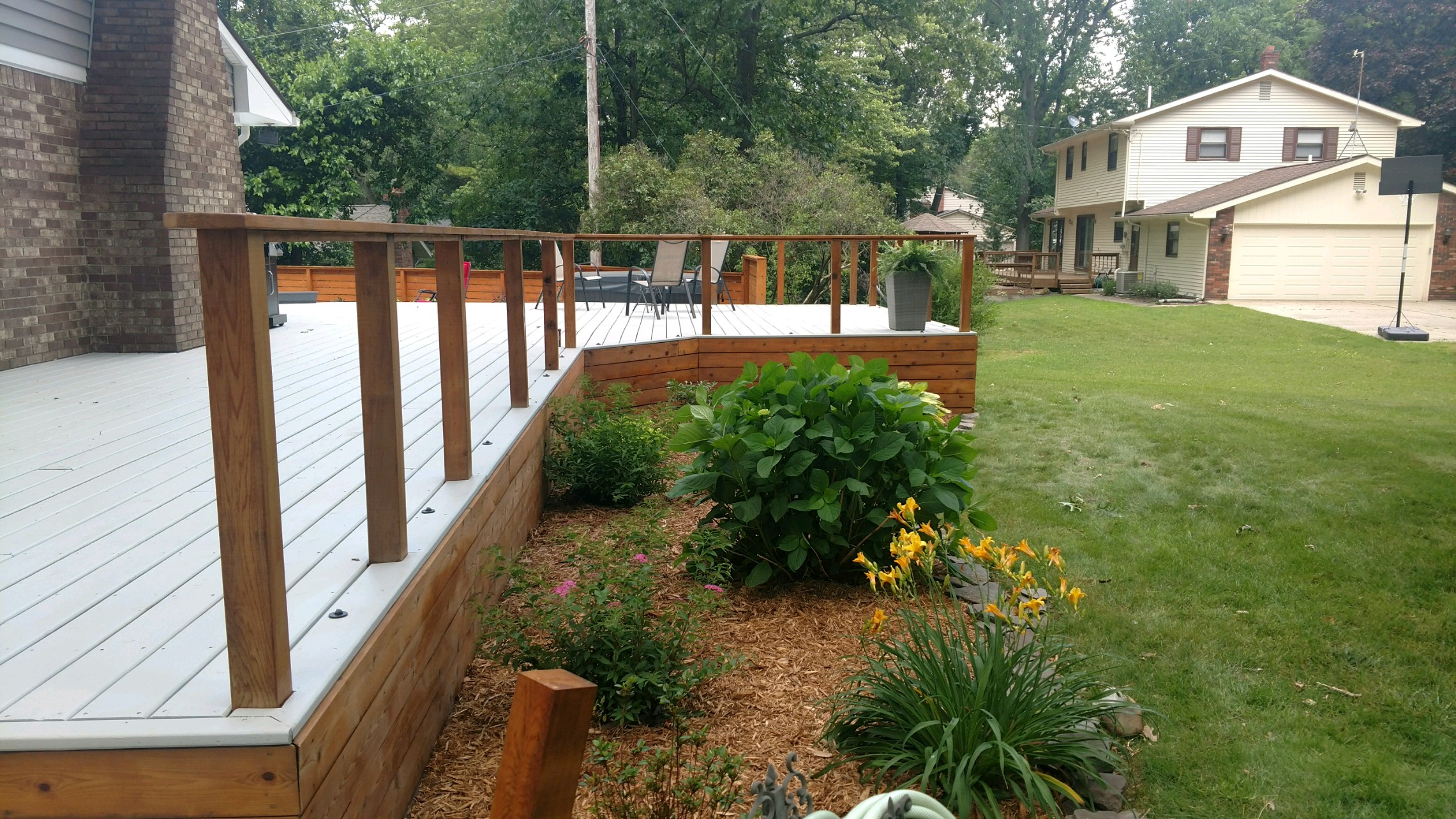 Treated Lumber Deck Stain