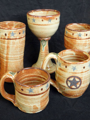 A collection from Luling Ice House Pottery