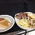 Hearty Man Breakfast