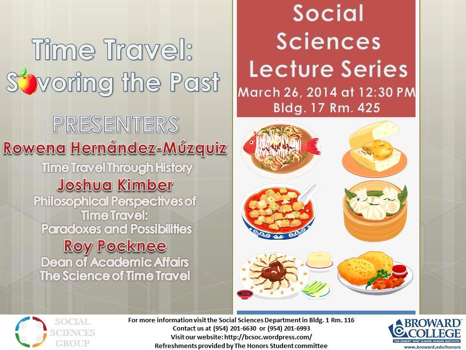 Social Sciences Lecture Flyer March copy