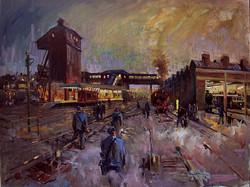 Hornsey Shed 1951