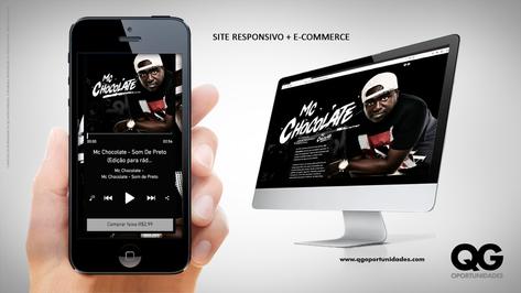 Site Responsivo + E-commerce