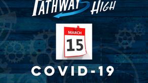Covid-19 Update:  March 15th
