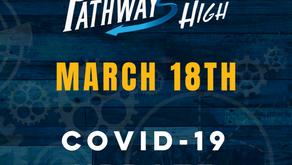 March 18 Covid-19 Update