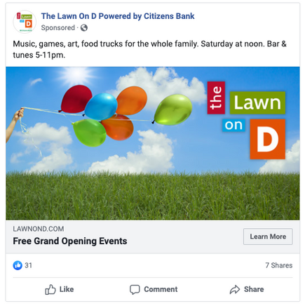 The Lawn on D