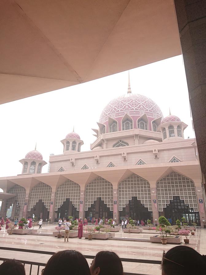 マレーシア旅行記② ピンクモスク