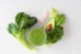 healthy fat & kale
