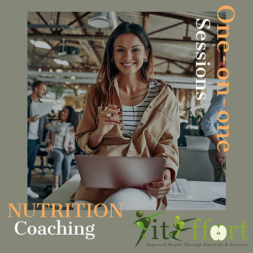 Ten Nutrition Coaching Sessions