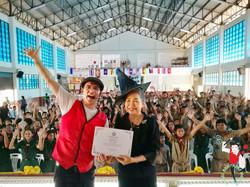 2017.08.31 2pm MBW Show Non Chai Public School Khon Kaen 6 bis