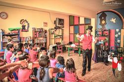 2016.02.04 Show de magia Hogar Oscar Romero, Buenos Aires, Trujillo, Peru 1 bis