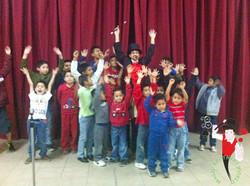 2015.01.05 Show de magia orfanato San Antonio, Leon, Mexico 4 bis