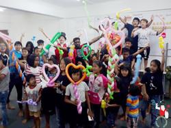 2017.09.08 Show MWB Burmese Refugee School KL Malaysia 7 bis