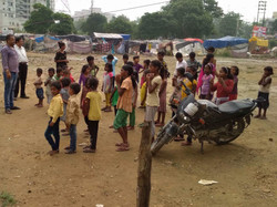 Show MBW Slum with NGO Amrit Varsha