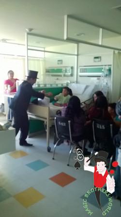 2015.03.19 Show de magia Instituto Mexicano del Seguro Social, Unidad Medica de Alta Especialidad, n