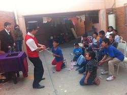 2014.12.27 Show de magia orfanato Casa Hogar Loyola Las Trojes, Leon, Mexico 1