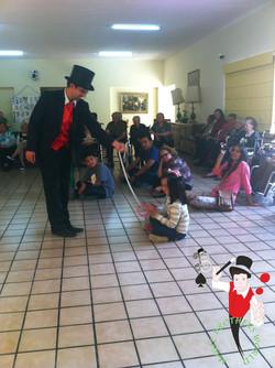 2015.03.08 Show de magia asilo de ancianos Vicentina, Leon, Mexico 1 bis