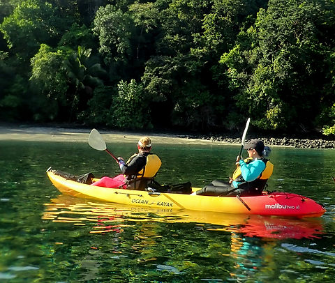 Kayaking in Costa Rica Coiba National Park