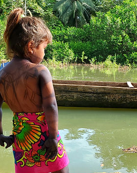 Young Embera Child in Panama