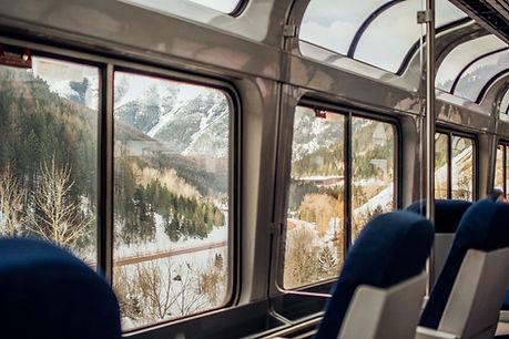 Window Viewing Cabin on Amtrak California Zephyr train