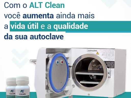 O ALT Clean prolonga a vida útil da sua autoclave