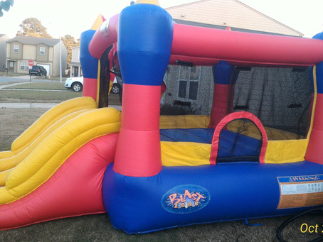 Origin Story / How Our Smaller Bounce Houses Compare to Others (Larger Commercial and Residential Mo