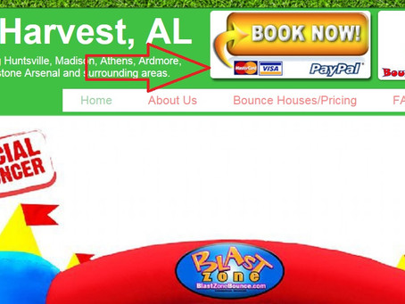 Booking a Bounce House Online